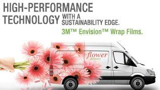 3M™ Envision™ Print Wrap Film 480Cv3 and Gloss Wrap Overlaminate 8548G go beyond non-PVC, with a<br />breakthrough boost in attributes — even outperforming the industry favorites, 3M films IJ180Cv3<br />and IJ380Cv3, and overlaminates 8518 and 8580.