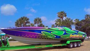 Get in on the growing boat wrap market!